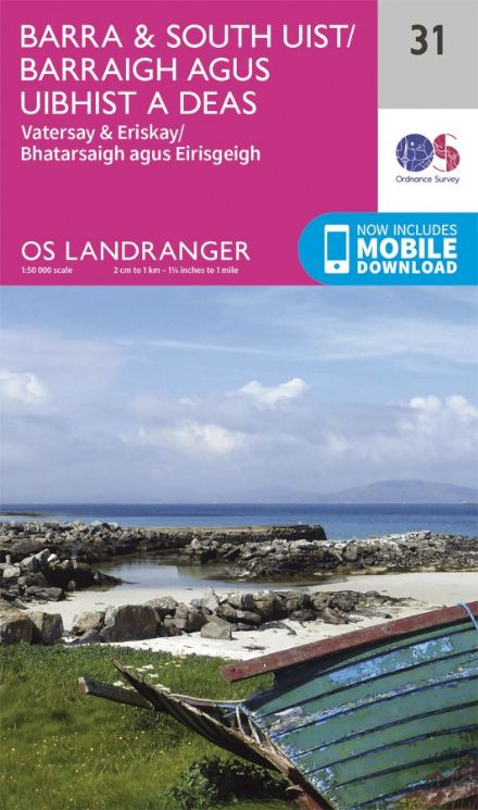 OS Landranger 31 - Barra and South Uist